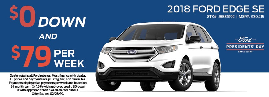 Ford Edge Se Grieco Ford Of Fort Lauderdale Specials Fort Lauderdale Fl